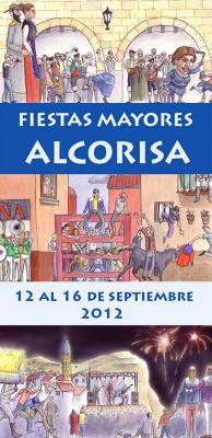 PROGRAMA DE FIESTAS MAYORES, ALCORISA 2012.