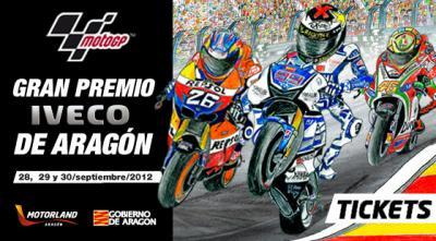 GRAN PREMIO IVECO DE ARAGON, 28, 29 Y 30 DE SEPTIEMBRE DE 2012.
