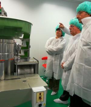 Tecnología de I+D+I en Alcorisa para la fabricación de medicamentos