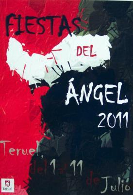 Cartel de las Fiestas del Angel 2011